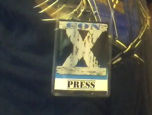 Con X Kansas City 2012 Press Pass